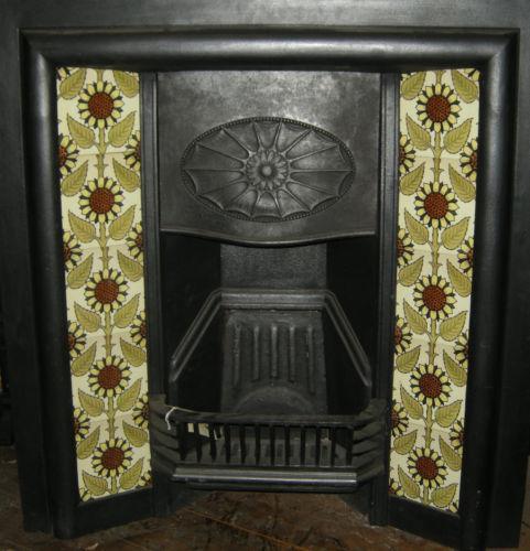 Arts & Crafts Sunflower Tile Set ref 001