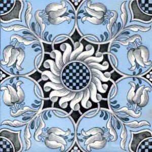 Aesthetic Movement tile  002