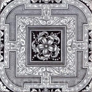 Aesthetic Movement tile  004