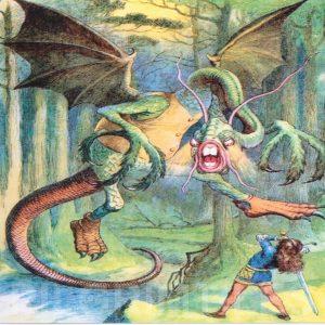 Alice In Wonderland Tile 001