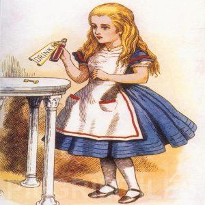 Alice In Wonderland Tile 013