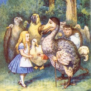 Alice In Wonderland Tile 014