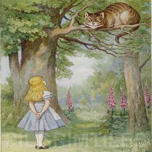 Alice In Wonderland Tile 022