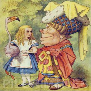 Alice In Wonderland Tile 024