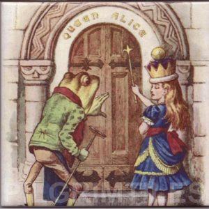 Alice In Wonderland Tile 025