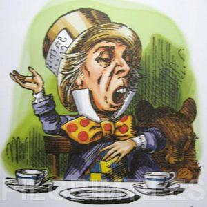 Alice In Wonderland Tile 026