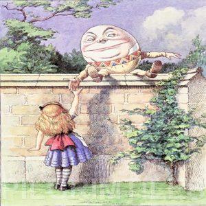 Alice In Wonderland Tile 027