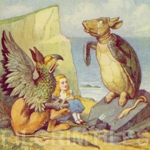 Alice In Wonderland Tile 032