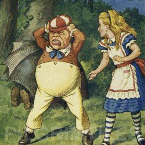 Alice In Wonderland Tile 033