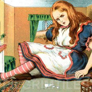 Alice In Wonderland Tile 036