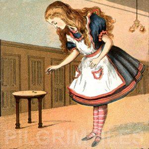 Alice In Wonderland Tile 037