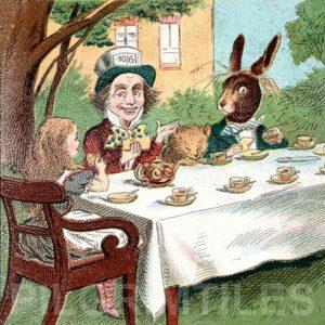 Alice In Wonderland Tile 039