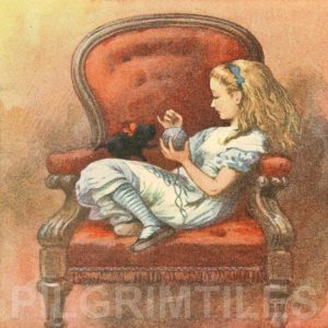 Alice In Wonderland Tile 043