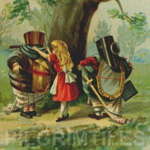 Alice In Wonderland Tile 046