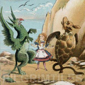 Alice In Wonderland Tile 049