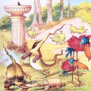 Alice In Wonderland Tile 007