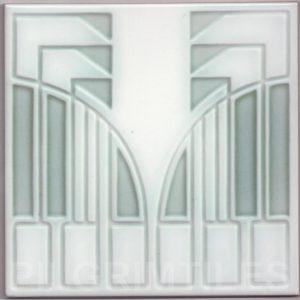 Art Nouveau stylized Tiles  ref An108