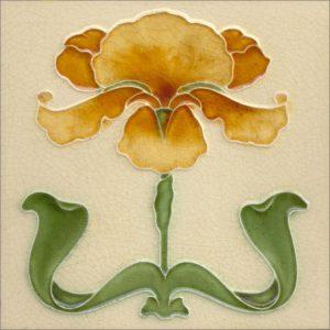 Art Nouveau stylized Tiles  ref An59