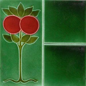 Art Nouveau stylized Tiles  ref An78