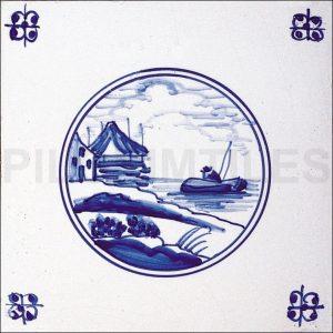 Delft Style Tile 2