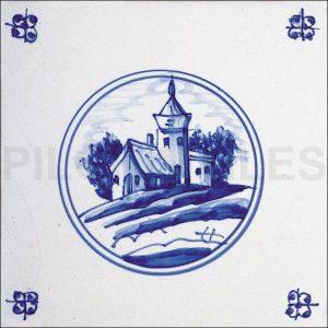 Delft Style Tile 6