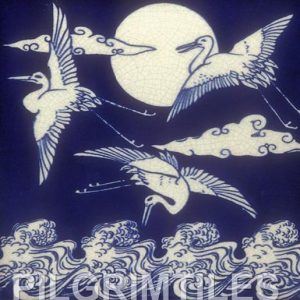 Cranes Aesthetic Movement - Blue