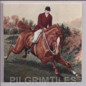 Horse Riding Scene (Male)