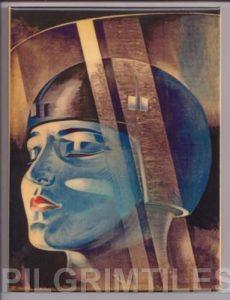 Fritz Lang Metropolis Tile Plaque