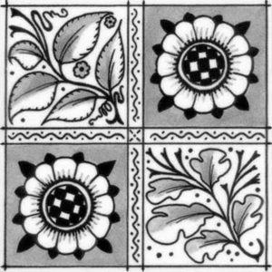 William Morris Oak Leaf Arts & Crafts Grey
