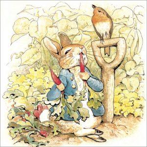 Peter Rabbit Tile 03