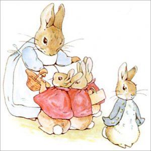 Peter Rabbit Tile 09