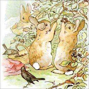 Peter Rabbit Tile 11