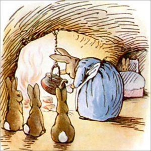 Peter Rabbit Tile 29