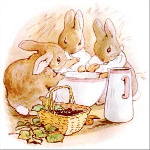 Peter Rabbit Tile 30