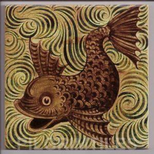 William De Morgan Fish