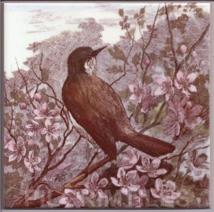 Victorian Style Bird and Blossom 03